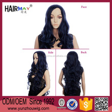 Guangzhou yunzhou factory latest design long curly wig wholesale