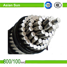 ASTM Standard Overhead Aerial Cable ACSR Dove Conductor