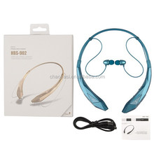 V4.0 Bluetooth Earphone, 2.4G Frequency, Support Two Devices, Heavy Bass, Boot vibration, 10m Range HBS-902