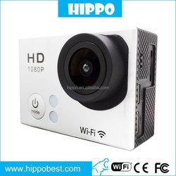 Multi function mini monopod sjcam sj5000 plus Sports Camera 2.0 inch Underwater Wifi Bike HD Action Video Camera