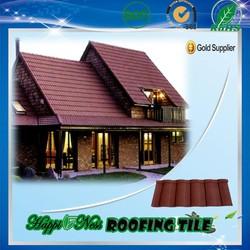 High quality shingle roofing tiles /spanish roof tile/villa roofing tile hot sale