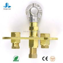 Gas water heater pilot burner/pilot burner assembly