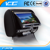 High stable quality 7 inch headrest dvd player Sunplus Dvd solution with ex-fty price