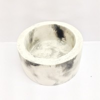 garden cement or concrete accessories white marble vase