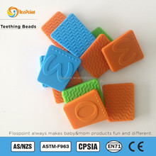 Wholesale Fashion Chewable Silicone Rubber Pearl Beads For Baby