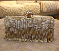 Crystal elegant lady's wedding party evening clutch bag