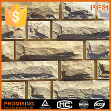 Five star hotel design rustic natural stone wall cladding panel