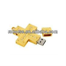 8GB Cross Crucifix Flash Drive,minions usb flash drive