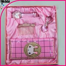 factory wholesale women watch wallet gift set ladies wallet pen set wholesale