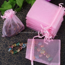 Good Color Elegant Looking Nice Material Light Organza Pouch