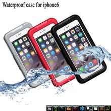 2014 new products waterproof case for iphone 6 plus, for iphone 6 iphone 6 plus waterproof case