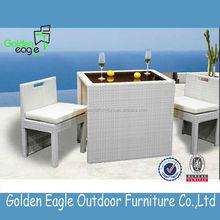 outdoor indoor garden rattan wicker aluminum dining set wholesale outdoor patio furniture