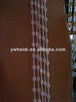 small white crystal ball curtain for house