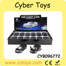 2015 newest 1:32 scale diecast metal car authorization car toys with light and music