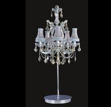 Modern luxury crystal chandelier table lamp