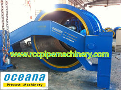 Suspension Roller Concrete Pipe Making Machine for betonarme kutu menfez