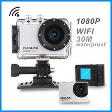 iShare S600w Full hd 1080p sports camera mini helmet camera hd sports