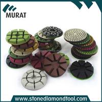 3 Inch Diamond Resin Abrasive Pad for Concrete Floor Polishing
