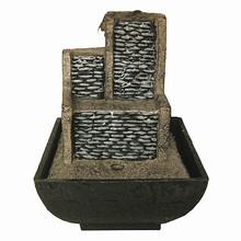 polyresin adornos de escritorio de oficina waterfeatures cascadas