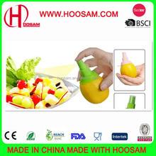 smart kitchen gadget plastic lemon orange squeeze spray fruit salad sprayer