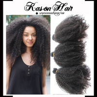 2015 New Products Cheap Bundles Of Virgin Brazilian Hair 3 Bundles Afro Kinky Curly Hair Extensions