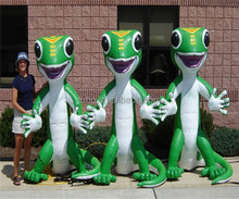 2015 Discount and Good cartoon dolls ,Inflatable Gecko Giant Inflatable products for children