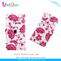 Alibaba express durable universal smart phone leather case for 5.0 inch