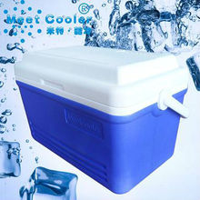 plastic portable insulate ice camping box 19L