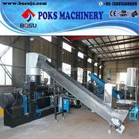 high output pp pe film plastic recycling granulating machine