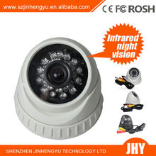 T925 home security cameras digital video recorder 3.6mm AV Output 24 PCS Infrared LED Home CCTV Dome Security Camera