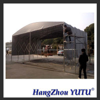 TLP0161steel frame truck canopy/storage shelter