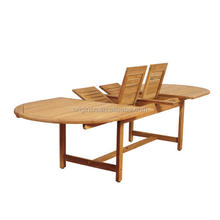 10 seater patio set wicker armchairs and teak wood oval double leaf extendable dining table