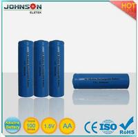 aa 1.5v battery alkaline rechargeable battery 3.7v 170mah li ion battery