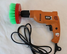 Electric carpet cleaning brush/round floor cleaning brush/cleaning brush for drill