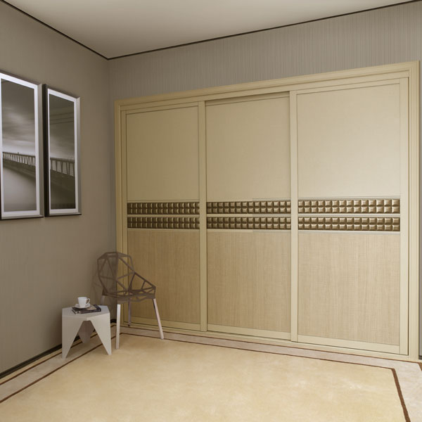 2014 New Design Simple Indian Style Bedroom Wardrobe
