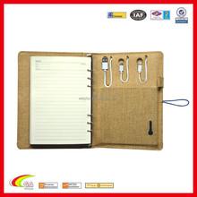 16 oz Canvas Power Band Notebook Canvas Rechargeable Battery Padfolio Agenda Canvas Rechargeable Battery File Case Newest Design