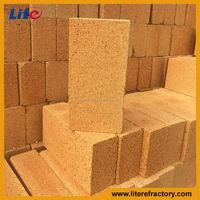 High Alumina Fire Clay Refractory Price of Common Bricks For Ladle/coke oven/boiler/tunnel kiln/blast furnace