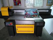 small uv flatbed printer machine for glass,ceramic UV1325 full-color printing no fading universal printer at a time.