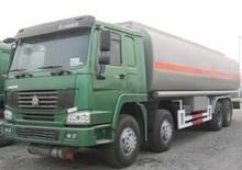 China Howo 8*4 fuel tanker truck capacity fuel tank truck hot sale oil trucks heavy transport vehicles