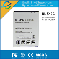 mobile phone battery for phones for lg BL 54SG
