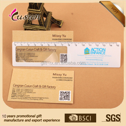 Hot sale gifts Shaped PVC Magnifier rulers