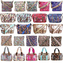 2015 hot selling oil cloth canvas teenage girl fashion kids school bags wholesale