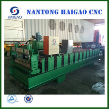 HGYX25-210-840A Single Layer CNC color steel forming press machine/tile making machine