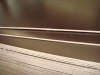 12mmX1220X2440, melamine glue, hardwood core,brown tego film faced plywood