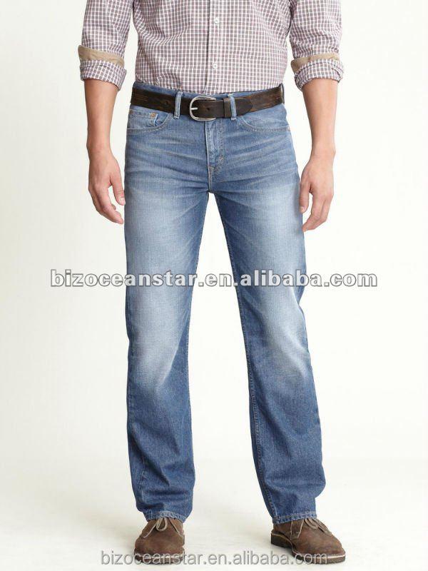 2014 new fashion wholesale plus size mens jean buy plus
