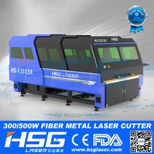 China Manfacturer Fiber Laser Cutting & Engraver Machine with Price HS-F2513A