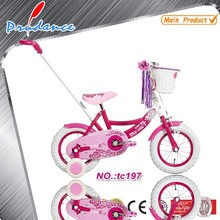 Red preety girl child mtb/mountain kids bike for girl 12/16inch
