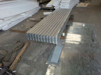 corrugated and trapezoid galvanized or galvalume roofing sheet