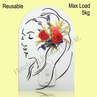 glass adhesive good quality corner wall hooks