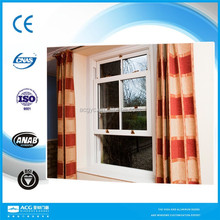 modern house aluminium single hung sash window factory price